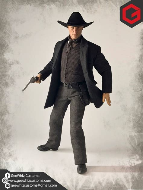from in black geewhiz customs in black clothing from hbo s westworld series
