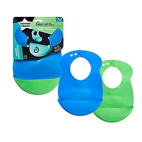 Tomme Tippee Roll And Bibs tommee tippee 174 easi roll 2 pack bibs buybuy baby