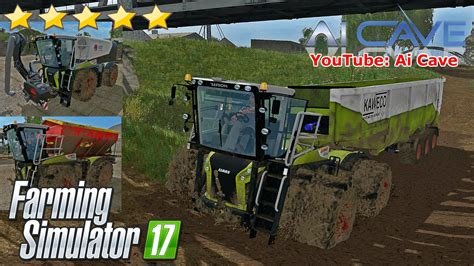 Ls In La by Claas Xerion 4000 St Pack By Qwares17 Fs17 Farming