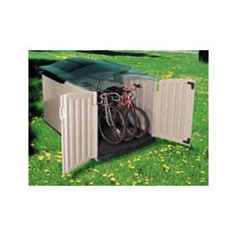 Rubbermaid Slide Top Storage Shed by Idea For Rubbermaid Bike Forums