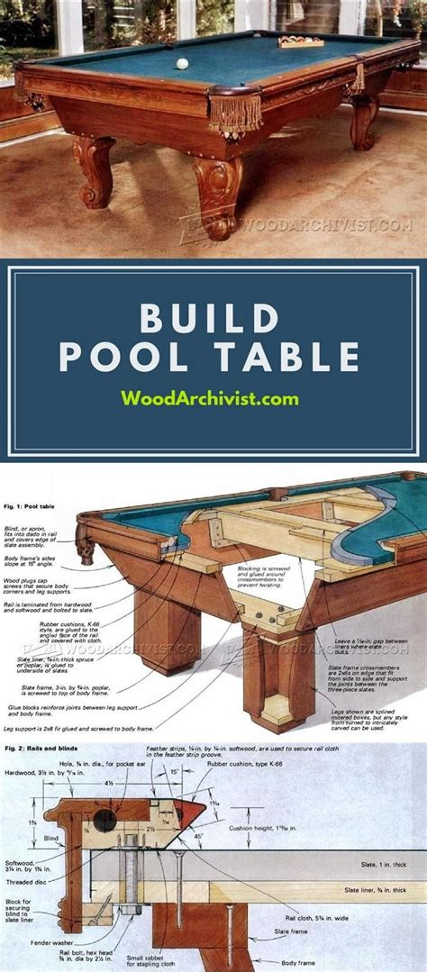 pool table woodworking 25 b 228 sta snickeriid 233 er bord id 233 erna p 229 pinterest