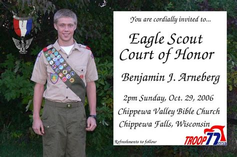 eagle scout court of honor invitation template 17 best images about family on cleanses the