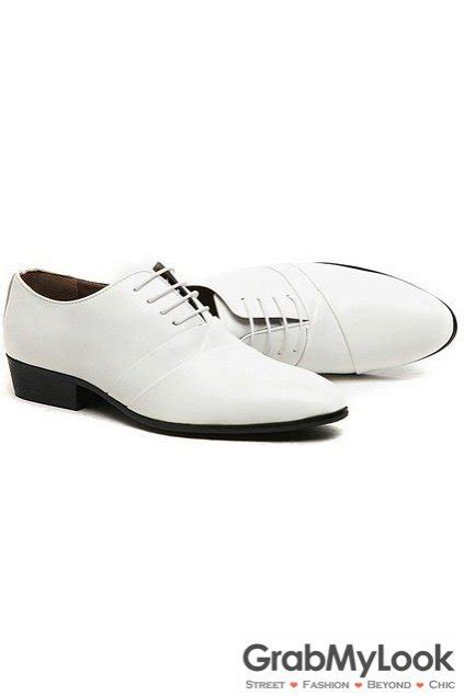 white lace oxford shoes patent leather white lace up point mens oxfords shoes