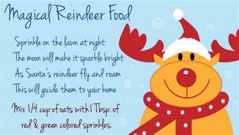 make your own food magic reindeer food for santa s reindeer make at home