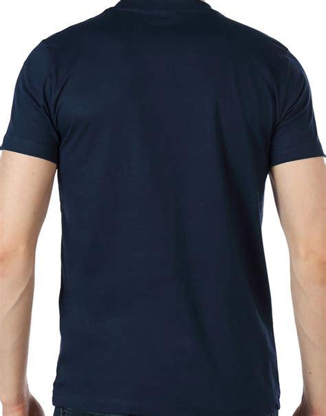 Simpple Aparel Neck Navy photo t shirt