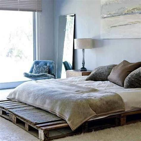 Pallet Platform Bed Pallet Platform Bed Bedroom Dreams