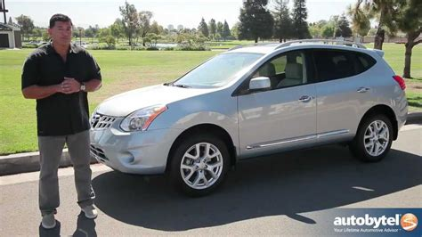 black nissan rogue 2012 2012 nissan rogue test drive crossover suv video review