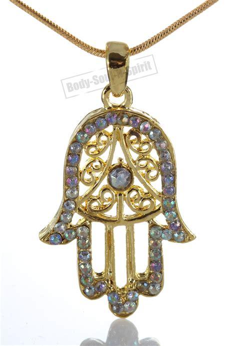 soul hamsa necklace of god evil eye charm pendant