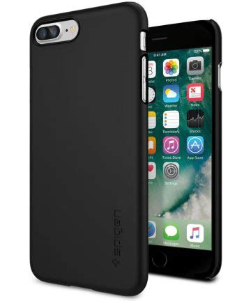 Spigen Thin Fit Iphone 7 Plus 3 spigen thin fit apple iphone 7 plus 8 plus zwart gsmpunt nl