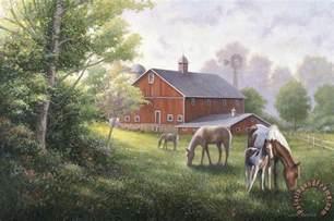barn prints zaccheo barn painting barn print for sale