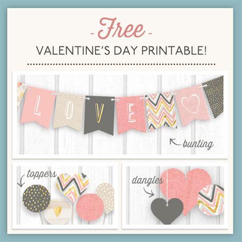 printable heart decorations printable valentines decorations iron blog
