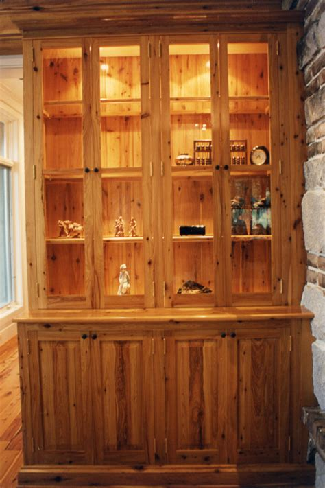 Cypress Cabinets by Portfolio W D Bosworth Woodworking Sculpture