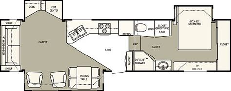 hitchhiker rv floor plans 2007 36 hitchhiker 5th wheel trailer for time rv living