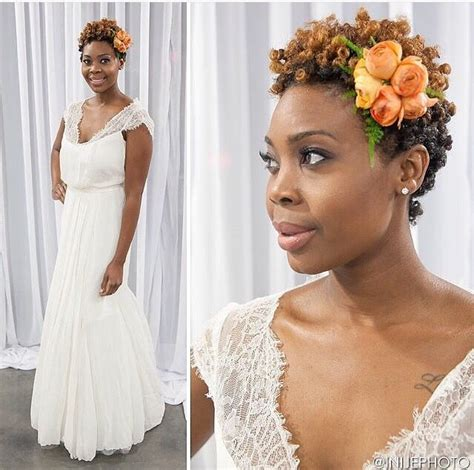 Wedding Hairstyles For Twa by Via 4chairchicks Bridal Look By Loopsalonatl