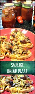 52 ways to cook: quick and easy sausage bread pizza 13