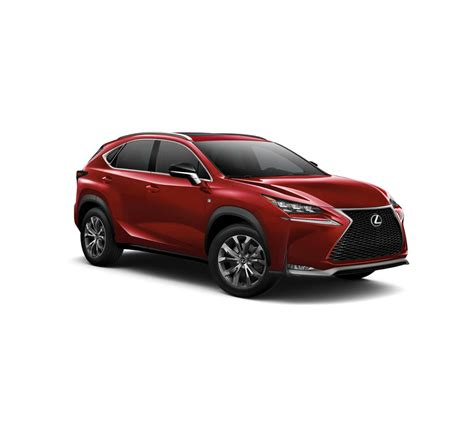 lexus nx red 2017 lexus nx turbo f sport in matador red mica for sale