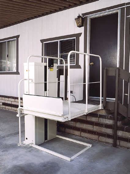 handicap bed lift mac s lift gate pl50 pl72 wheelchair lifts