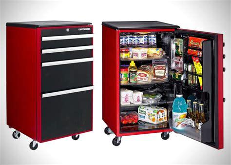 toolbox garage refrigerator  craftworks hiconsumption