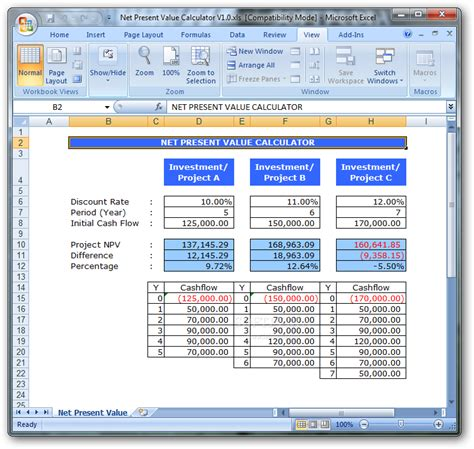 download intrinsic value calculator excel free