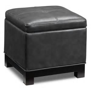 Furniture Ottoman Atlanta Storage Ottoman Grey S
