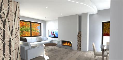 Design Interni Moderne by Interni Moderne Con Camino