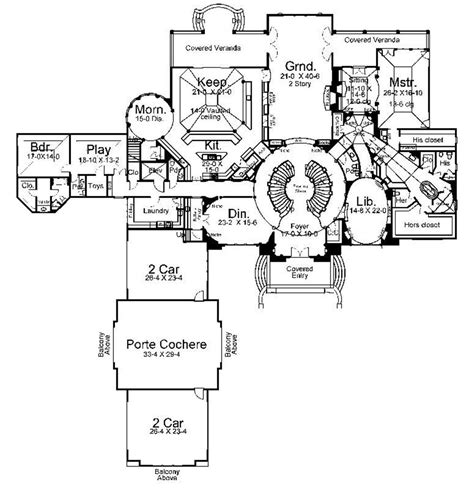 large luxury house plans large home plans 6 large luxury house floor plans
