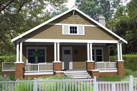 Narrow Cottage Plans craftsman style house plan 3 beds 2 baths 1260 sq ft