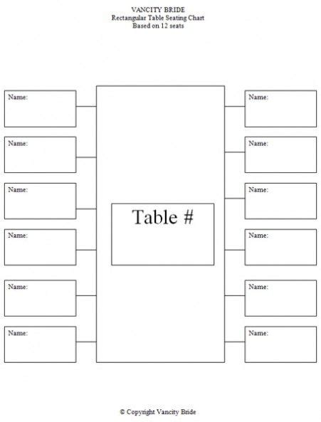seating planner template free individual table seating charts baby things