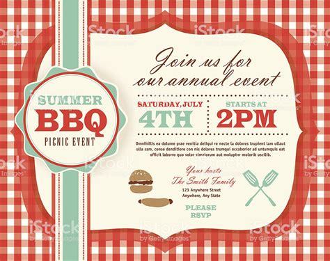 picnic invitation template picnic invitation design template horizontal and teal