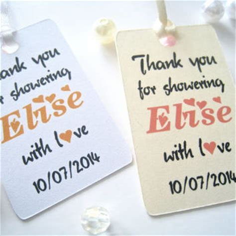 thank you tags for bridal shower favors best thank you tags bridal shower products on wanelo