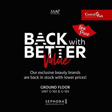 Sephora Jakarta sephora central park mall jakarta