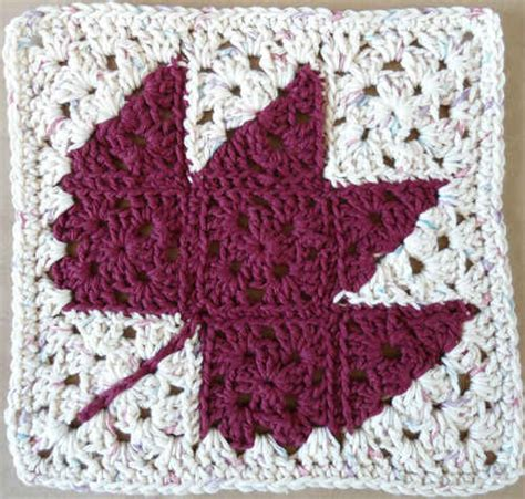 crochet leaf pattern afghan 224 autumn leaf crochet dishcloth maggie weldon maggies