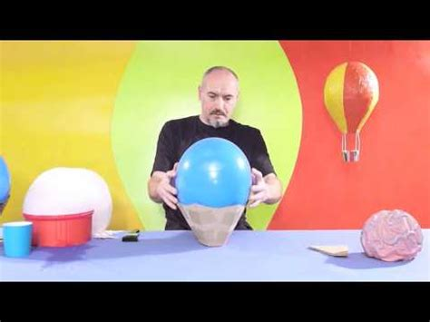 Paper mache balloon project youtube
