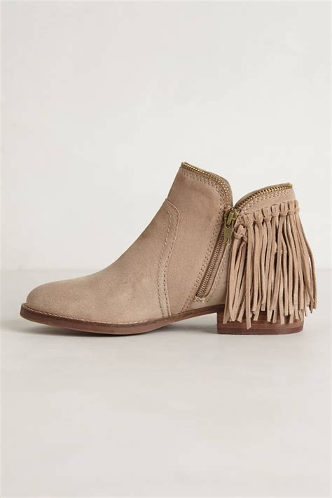 dolce vita shoes dolce vita dally fringe boots in lyst