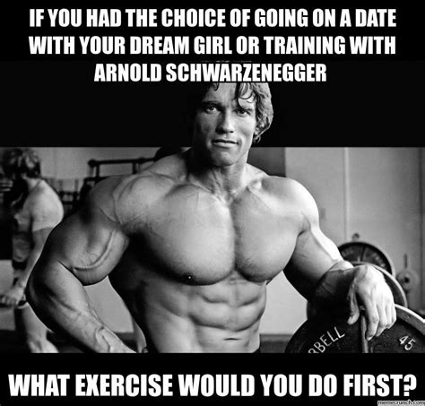 Arnold Gym Memes - coroca the no fad all fun fitness journey