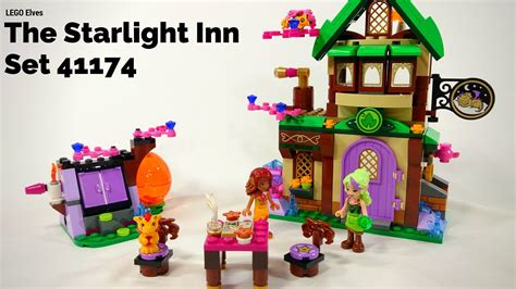 Mainan Lego Lego Elves 41174 lego elves the starlight inn review set 41174
