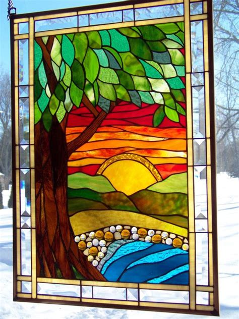 stained glass window panels 17 best images about witraż stained glass on stained glass fireplace screen
