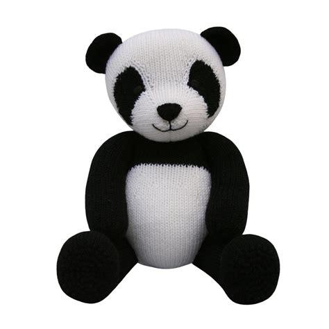 knitting pattern panda jumper panda knit a teddy knitting pattern by knitables