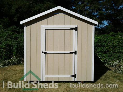 standard gable  build sheds