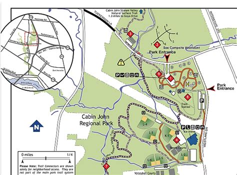 Cabin Park Map by Cabin Quantico Orienteering Club
