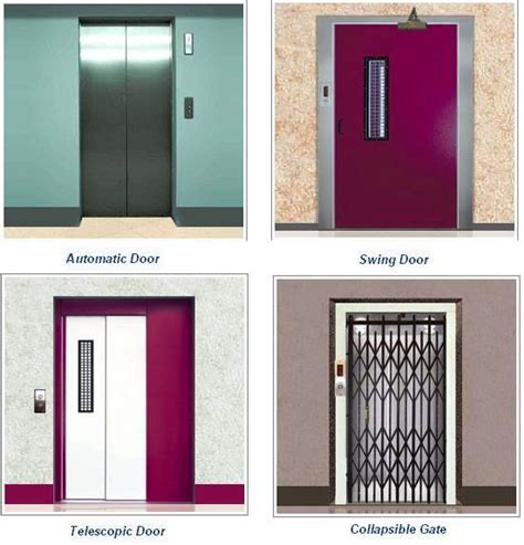 types of door swings basic elevator components part two electrical knowhow