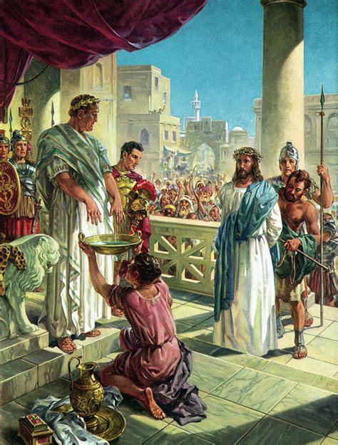imagenes de jesus ante pilato mision bautista blog quien era poncio pilato parte iii