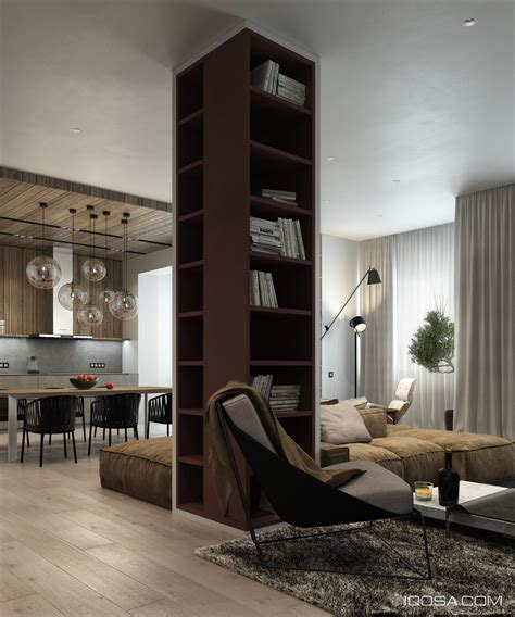 pillar designs for home interiors central bookshelf pillar interior design ideas