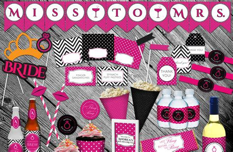 Pink And Black Polka Dot Baby Shower Decorations by In Print 187 Archive 187 Pink And Black Polka Dot