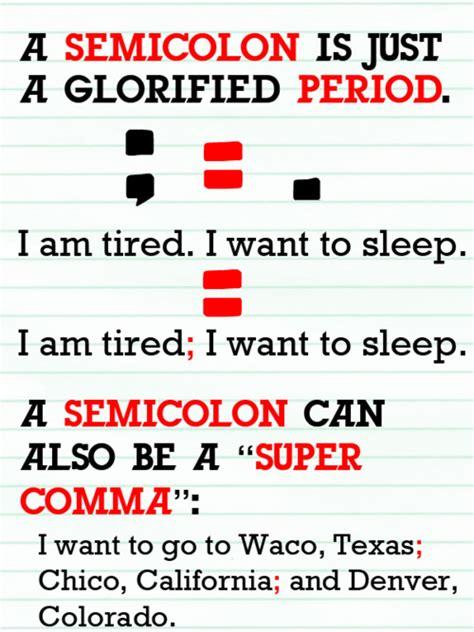 Presume In A Sentence by Teaching Stuff Colon Vs Semicolon For The Classroom