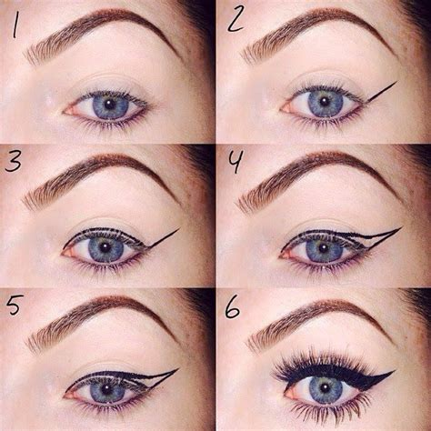 eyeliner types tutorial best tips to apply winged eyeliner for beginners how to