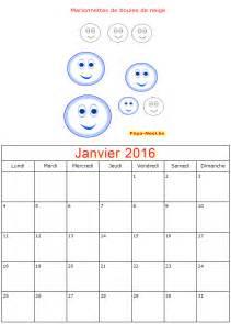 Calendrier 9 Janvier Pour Enfants 2017 Calendriers Janvier 2016 224 Imprimer 20