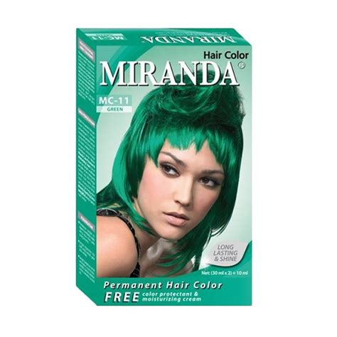 A31 Miranda Hair Color 30ml jual miranda hair color mc11 green 30 ml