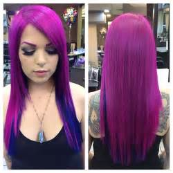 pravana blue hair color pravana vivids pink and blue bright hair color colourful