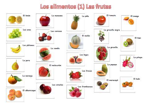 Imagenes De Verduras Que Empiecen Con La Letra E | im 225 genes de todas las frutas con sus nombres material